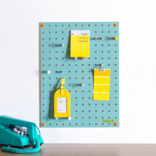 Block | Colourful Pegboards