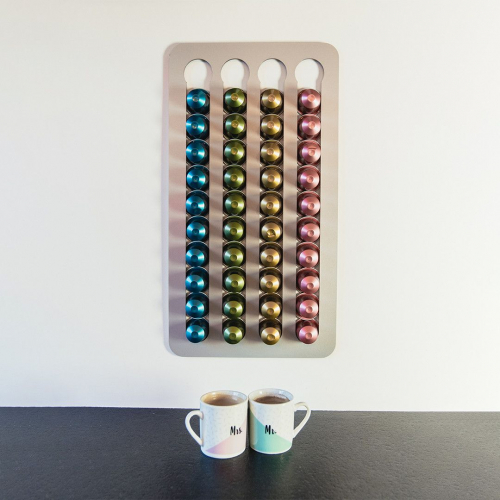 Nero d'oro | Praktisch & schön: Kaffeekapselhalter