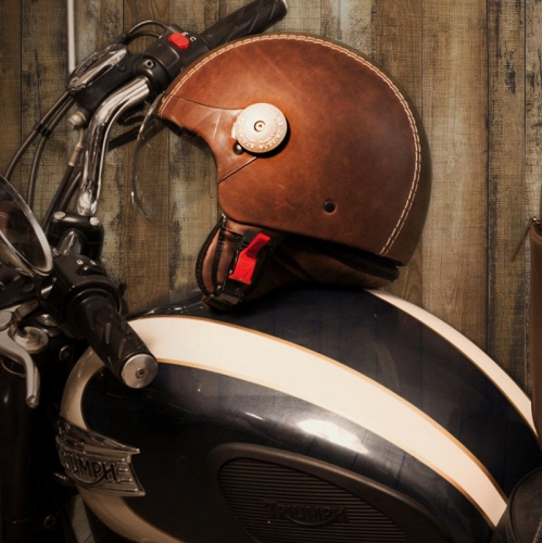 Andrea Cardone | Leather Helmets from Italy