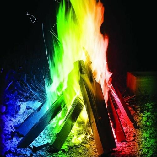 Mystical Fire | Magic Coloured Fire Flames