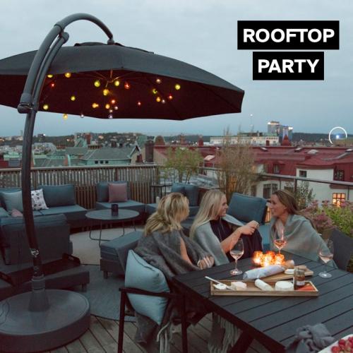 Rooftop Party | Pimpe deine (Dach-)Terrasse