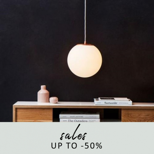 Lighting Sale | Up to -50%