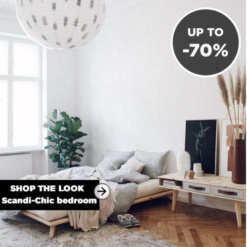 SHOP THE LOOK | Scandi-Chic Bedroom