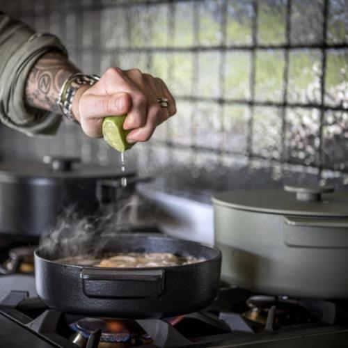 Sergio Herman by Serax | Kochtöpfe und Pfannen aus Gusseisen