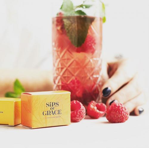 Sips of Grace | Mach das schmackhafteste Wasser