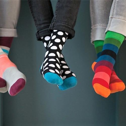 Remember | Colourful soft socks