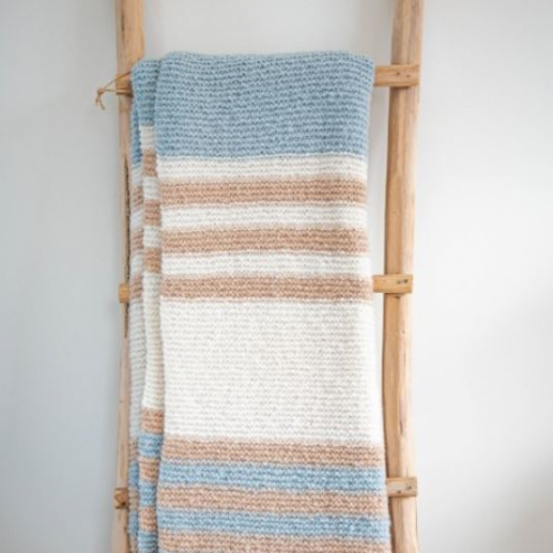 Solid | Plaids handgefertigt aus traditionellen Saris