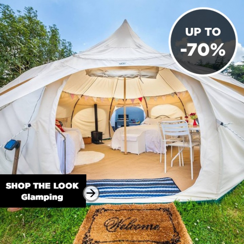 SHOP THE LOOK | Glamping