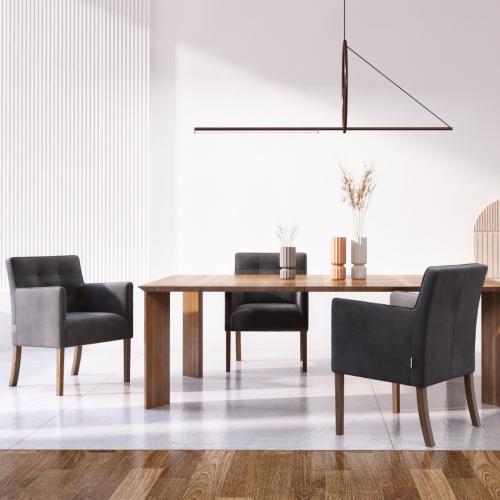 Ted Lapidus Maison | Glamour für deinen Essbereich: Designerstühle