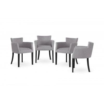 Ted Lapidus Maison | Bequeme Stühle gepolstert mit ultraweichem Stoff
