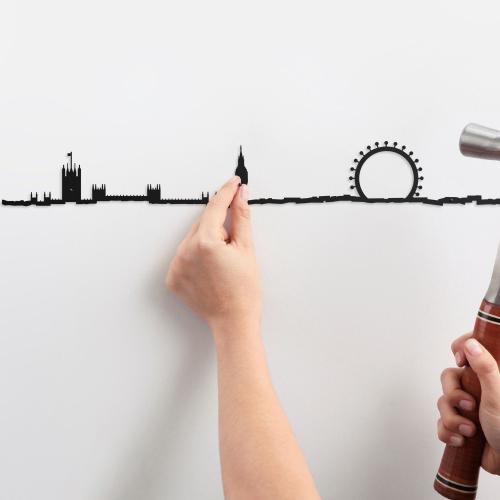 The Line | Stadt-Silhouetten für Weltenbummler