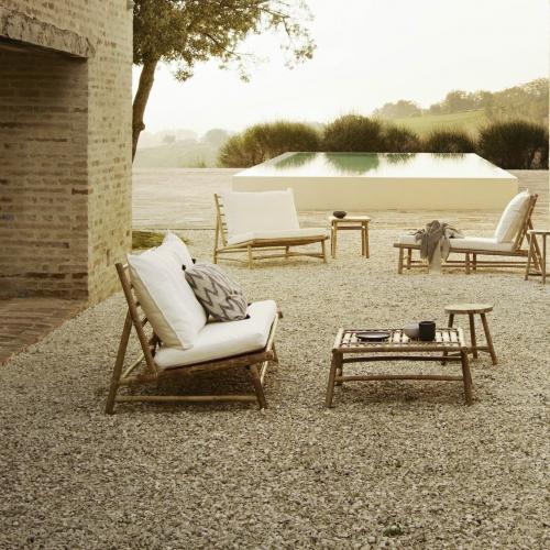 Tine K Home | Leicht & robust: Loungemöbel aus Bambus