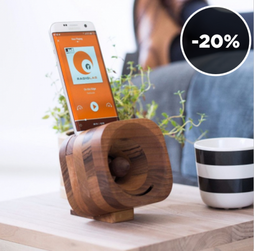 Trobla | Wooden Amplifiers for your Smartphone
