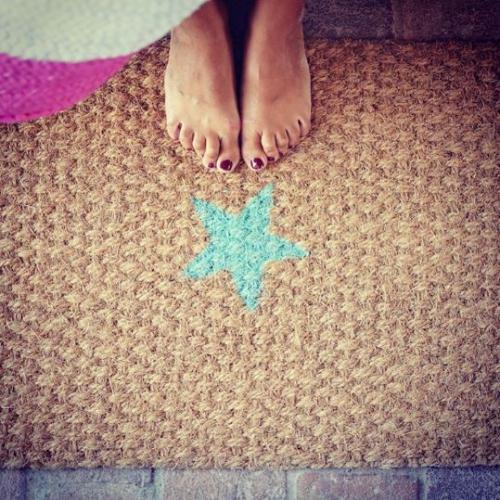 twenty violets | Sparkling Doormats
