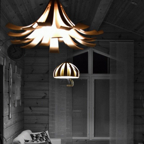 Visiopuu | Wooden Lampshades