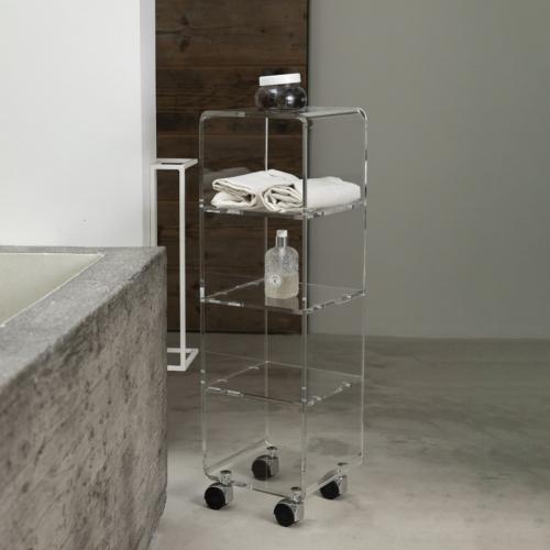 Vesta Design | (Un)sichtbar: Transparente Designs aus Acrylkristall