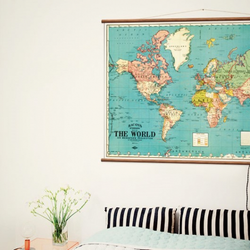 Wall Discovery | Handgemachte Vintage Poster