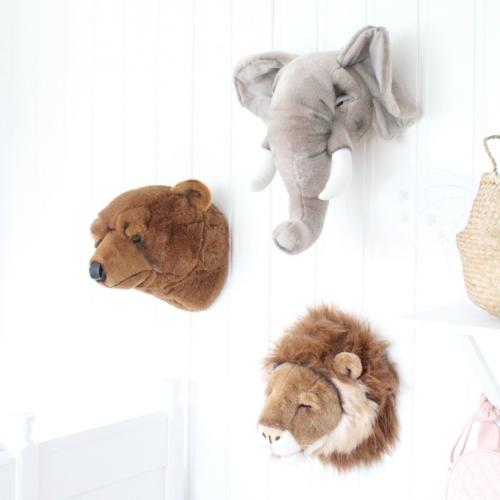Wild & Soft | Flauschige Tier-Freu(n)de für die Wand