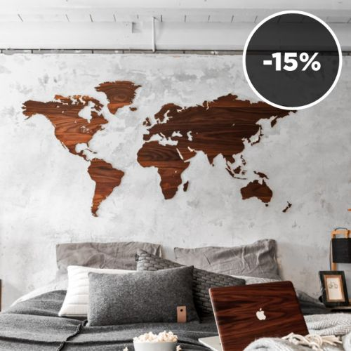 My Wooden World | Wanted: These World Maps