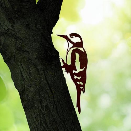 Metalbird | Zarte Vogelsilhouetten aus Metall