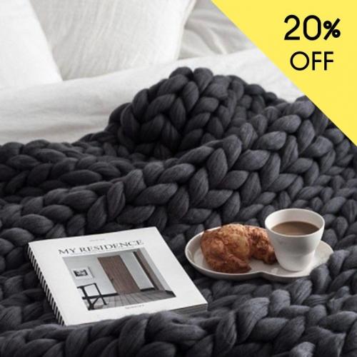 Woolsheep | Cosy Chunky Blankets