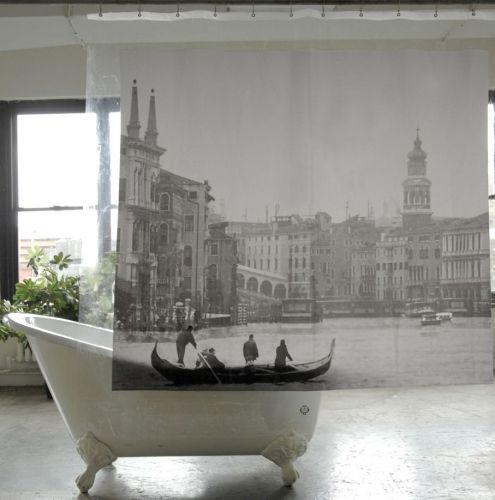Izola | Artistic Shower Curtains