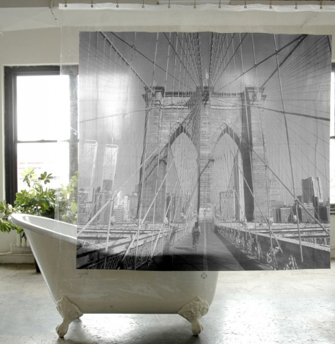 Izola | Nostalgic Shower Curtains
