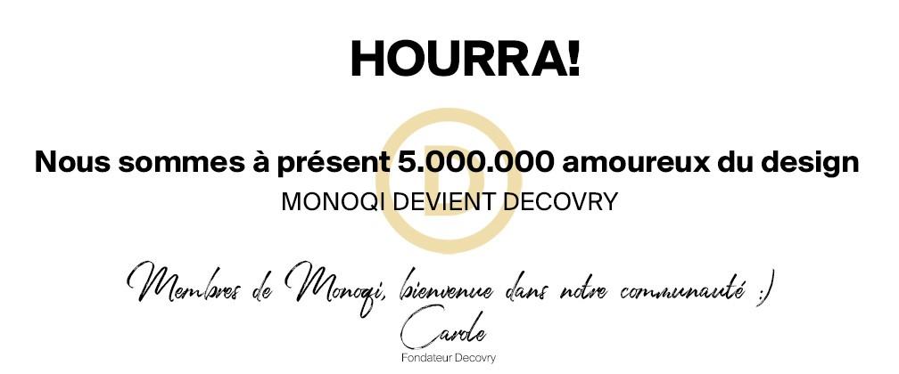 Monoqi devient Decovry